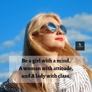 Attitude caption for girls in bengali