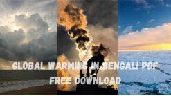 Global warming in bengali pdf free download