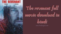 The revenant full movie download in hindi
